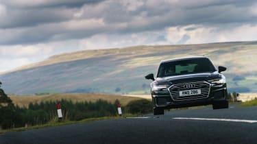 Audi A6 Estate S-Line - turn in