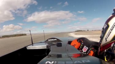 Video: Nissan DeltaWing testing