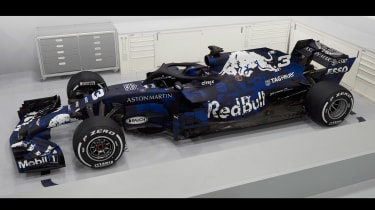 Red Bull RB14 front quarter top
