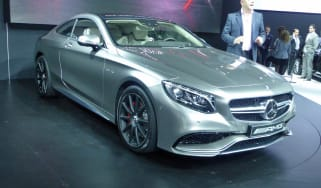 Mercedes S63 AMG Coupe New York motor show