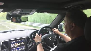 Jeep Grand Cherokee Trackhawk - interior driving