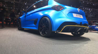 Renault Zoe E-sport - Diffuser