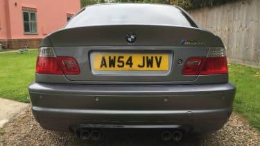 BMW M3 CSL – rear