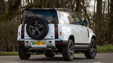 Land Rover Defender 110 P400 – rear quarter