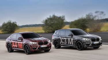 BMW X3 M and X4 M prototypes - pair