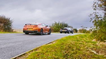 Nissan GT-R vs Lotus Evora Sport 410 - rear