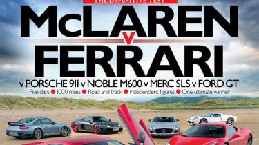 evo Issue 159 McLaren MP4-12C definitive test