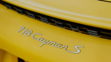 Porsche 718 Cayman S – Badge