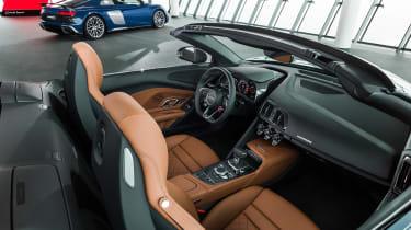 Audi R8 Spyder facelift - interior