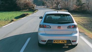SEAT Ibiza Cupra rear