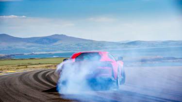 Ferrari 812 Superfast Anglesey - drift