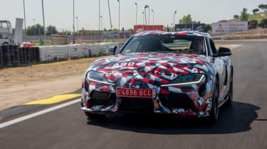 Toyota Supra proto drive - front