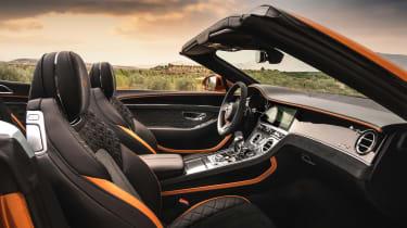 Bentley Continental GT Speed – cabin