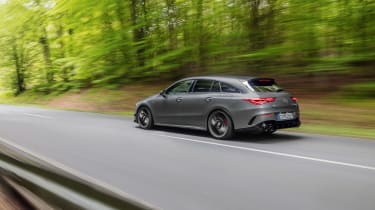 Mercedes-AMG CLA45 S Shooting Brake - rear quarter