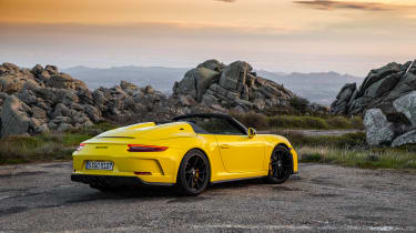 991.2 Porsche 911 Speedster - rear static
