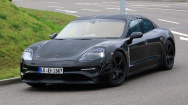 Porsche Mission E - front quarter