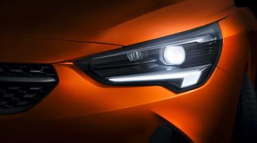 Vauxhall Corsa-e - headlights