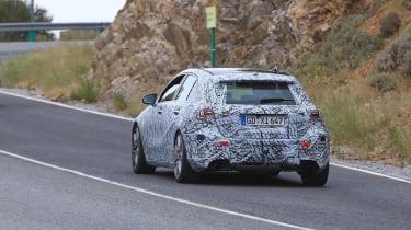 Mercedes-AMG A45 Spies - rear 3.45