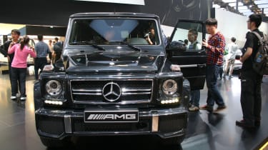 Beijing show: Mercedes-Benz G63 AMG