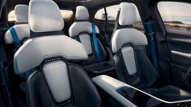 Porsche Mission E Turismo concept - cabin