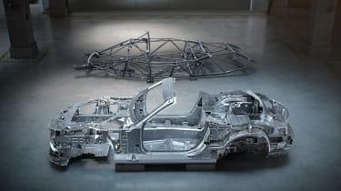 Mercedes SL structure
