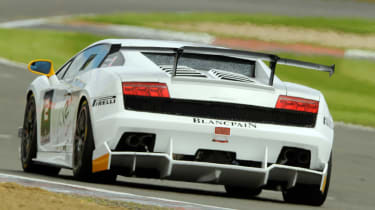 Lamborghini Super Trofeo rear