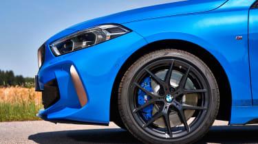 BMW M135i review 2019 - wheel