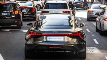 Audi e-tron GT Concept drive - rear