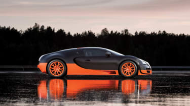 Final Bugatti Veyron sold