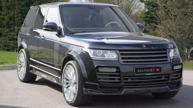 Range Rover tuned by Mansory