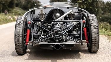 Porsche 550A Spyder - engine