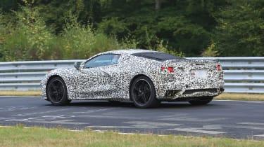 Chevrolet Corvette C8 prototype - rear quarter