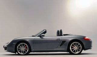 Porsche Boxster side profile