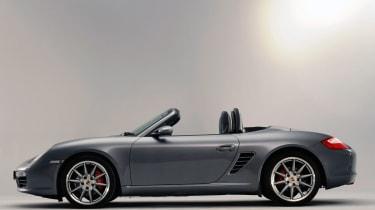 Porsche Boxster side profile