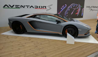 Lamborghini Aventador Goodwood special side