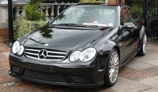 Mercedes CLK63 Black