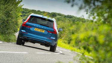 Volvo XC60 - rear tracking