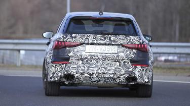 Audi RS3 mule 2021 - tail