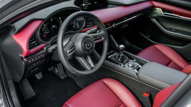 New Mazda 3 Skyactiv-X 2019 review interior