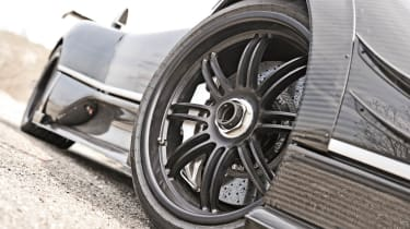 Pagani Zonda 760RS - the most extreme Zonda carbon winglets alloy wheels