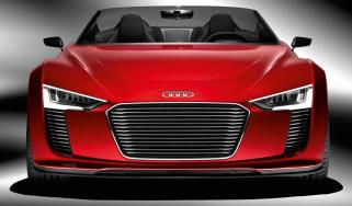 New Audi e-tron Spyder revealed