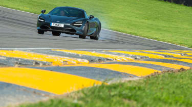 McLaren 720S at Anglesey