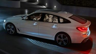 BMW 6-series GT - rear 3.4 static 3 lighting