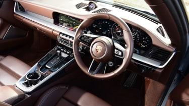 Porsche 911 Carrera S brown