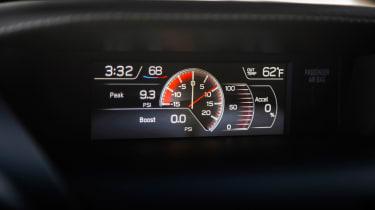 Subaru WRX STI S209 - boost