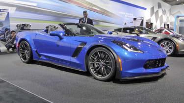 Chevrolet Corvette Z06 Convertible blue