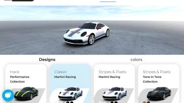 Porsche-approved online livery design service
