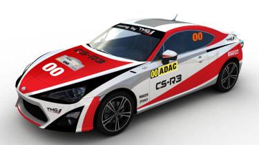 Toyota GT86 rally car