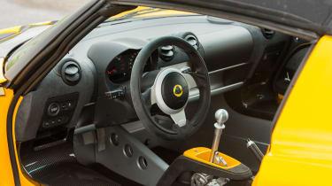 Lotus Elise Sprint 220 - Interior