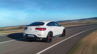 Mercedes-AMG GLC 63 Coupe rear tracking
